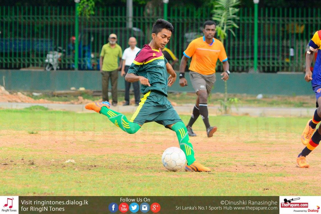 Hameed Al-Husseine v Trinity College - Schools Football 2016
