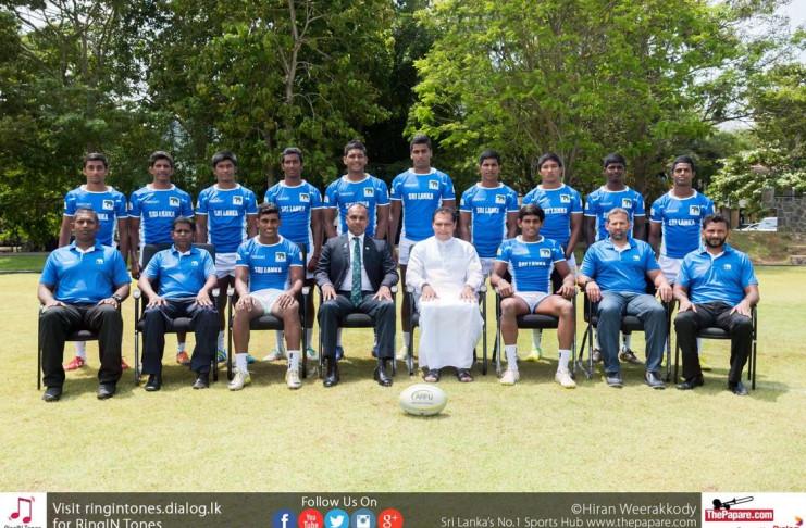 Sri Lanka U18 Rugby 7s Team