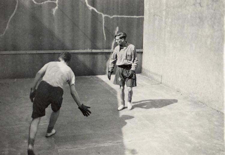 An original game of Five Courts (Image Courtesy of Allen Gellett)