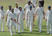 India bowled Australia out for 112 in their chase of 188. © AFP