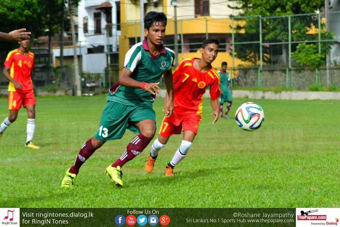 Lumbini College v Zahira College – Schools Football 2016