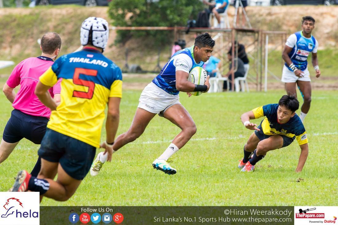 Sri Lanka vs Thailand – Asia Rugby U20 7s 2016