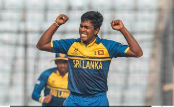 Sri Lanka U19 vs England U19 - Quarter Finals