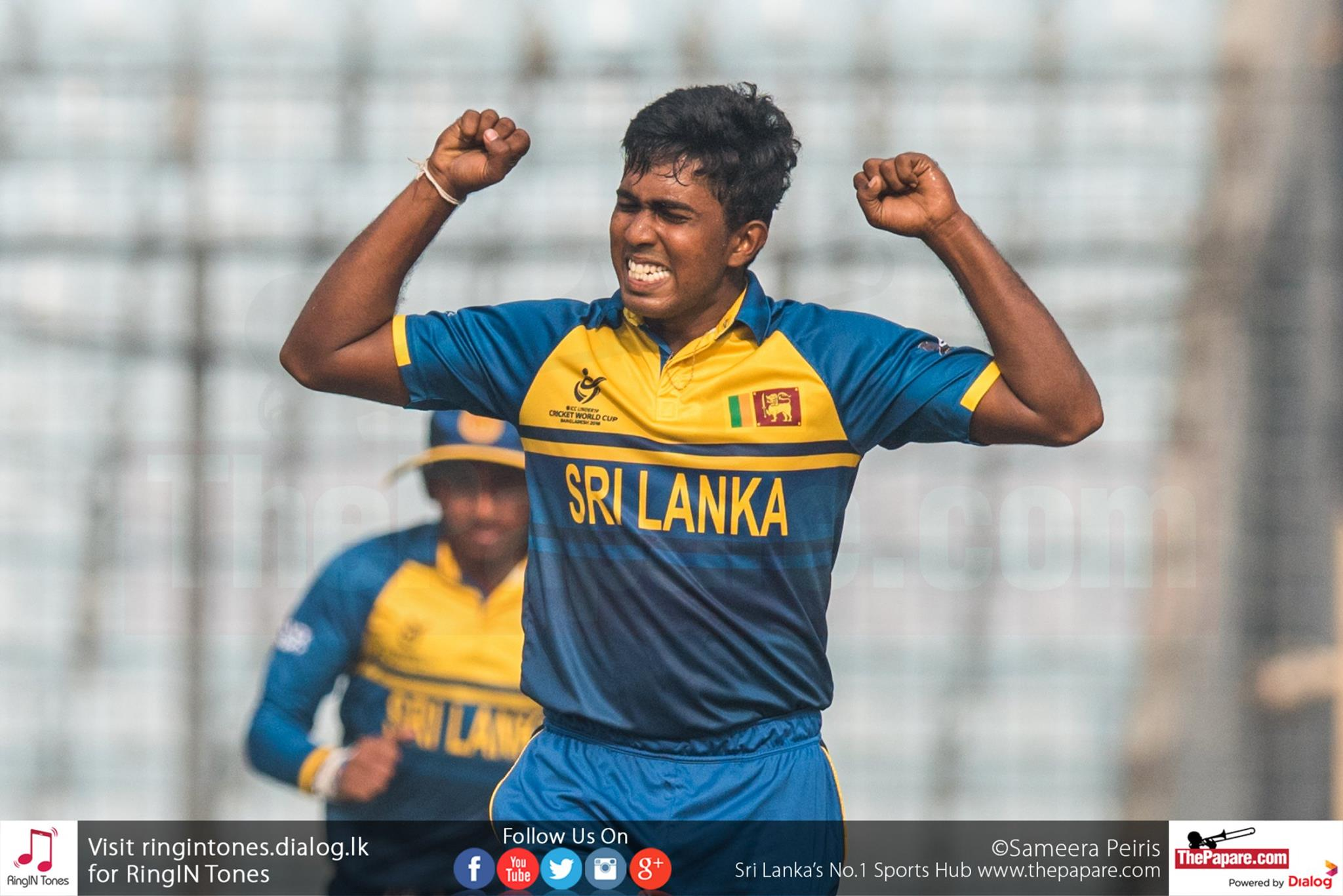 Sri Lanka U19 vs England U19 - Quarter Finals