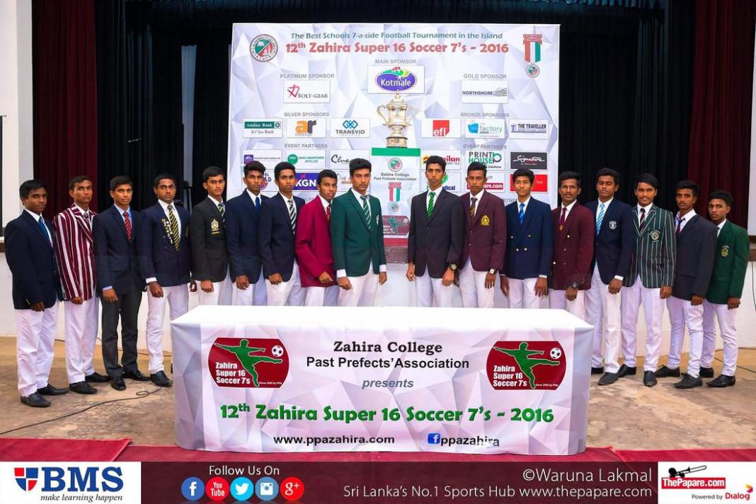 12th Zahira Super 16 Soccer 7's - Press Conference