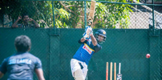 Sri Lanka Practices Ahead of 2nd Test