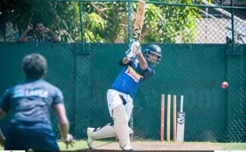 Sri Lanka Practices Ahead of 2nd Test