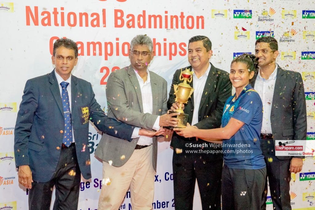 Thilni Hendahewa National title