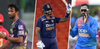 Team India squad for the ODI