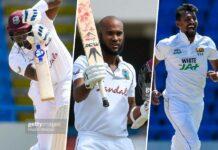 Brathwaite & Holder help Windies set 377-run target