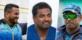 Dimuth Karunaratne and Angelo Mathews respond to Muralitharans