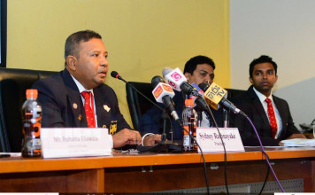 33rd Mercantile Annual Athletics Meet 2016 - Press Conference