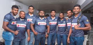 Sri Lanka Rugby - jersey presentation