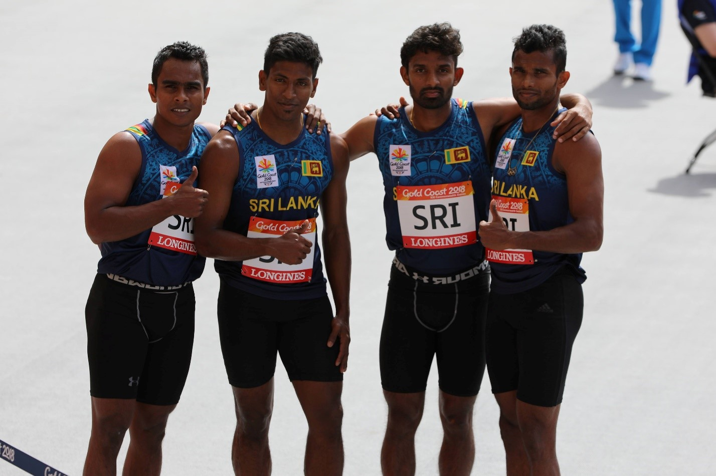 Commonwealth Games: Sri Lanka in the 4X100m final