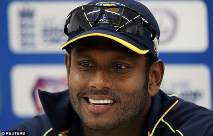 Sri Lanka captain Angelo Mathews