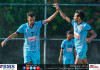 Renown SC Player Goal Celebrating