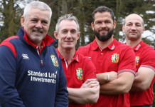 Gatland names 'core' Lions coaching team