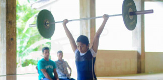 All island School Games - Weight Lifting