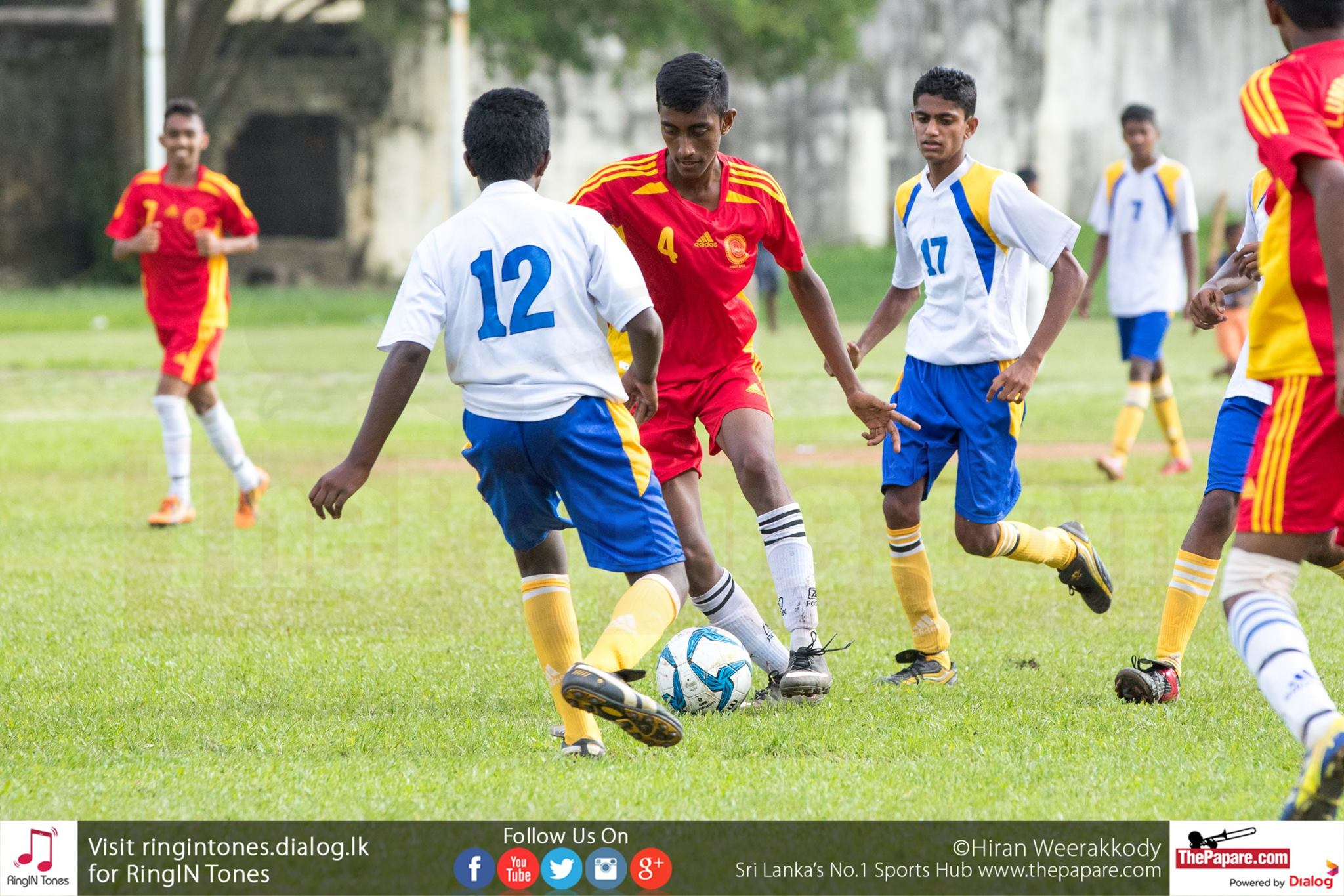 Lumbini College v Sri Pada College - Schools Football 2016
