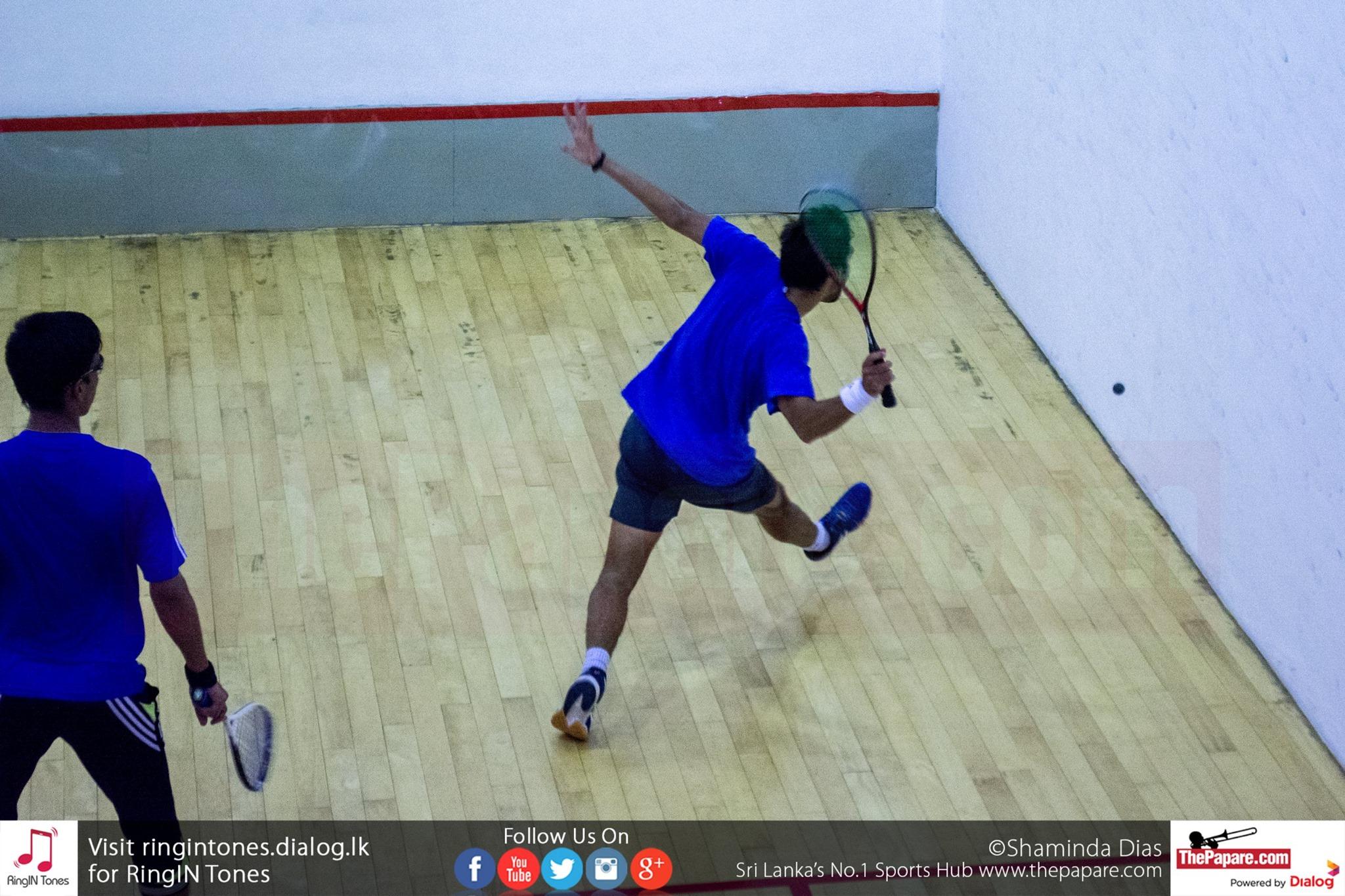 DS Senanayake College Squash Open Championship