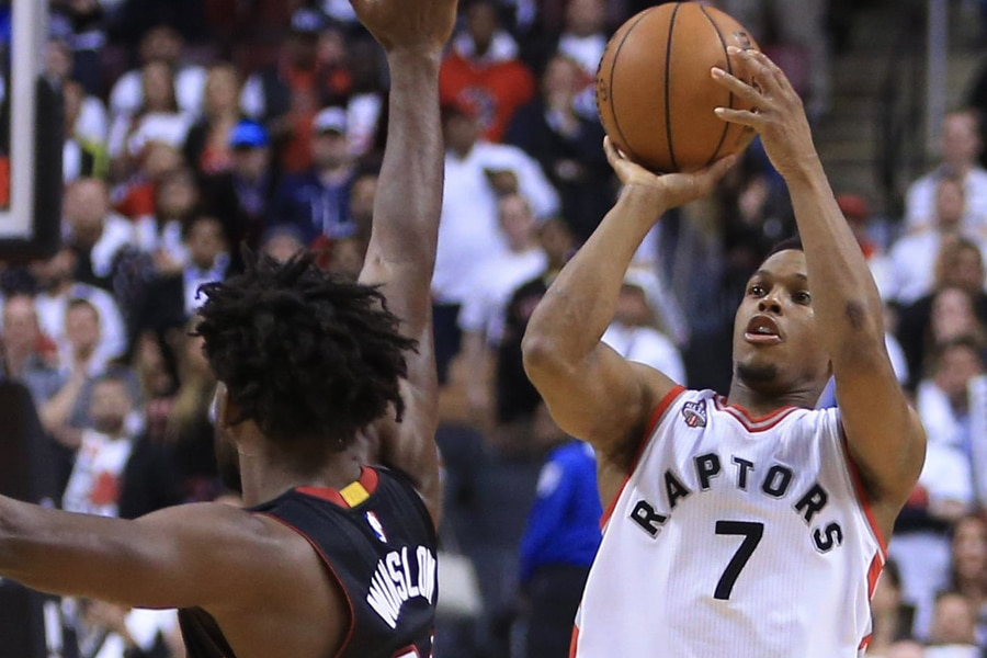 Lowry's half court Buzzer Beater brought fans to their feet