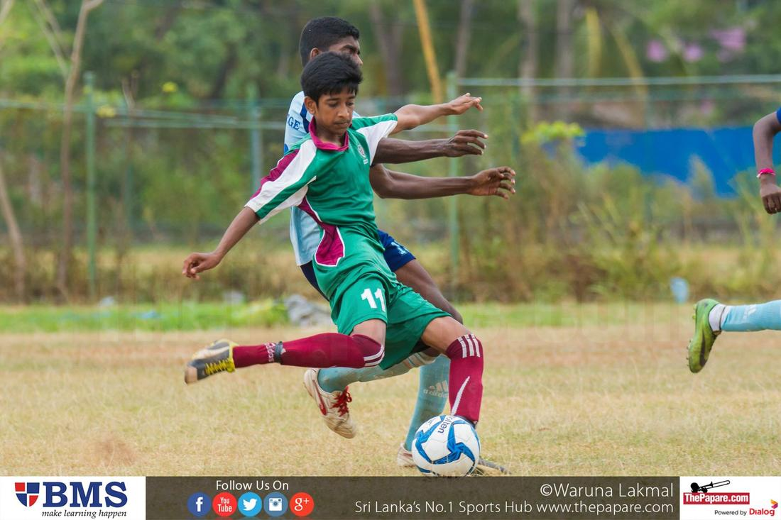 Zahira College v Wesley College - Schools Football 2016