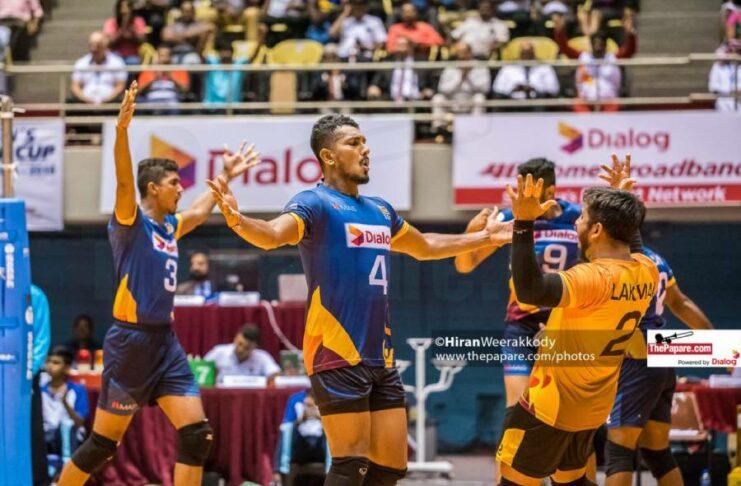 Sri Lanka defeated Uzbekistan 3-0 in the 2021 Asian Men's Volleyball Championship qualifier