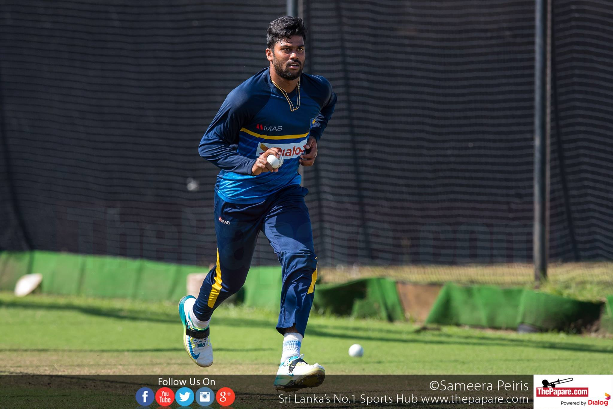 SLvSA Team Practices Ahead of 2nd ODI