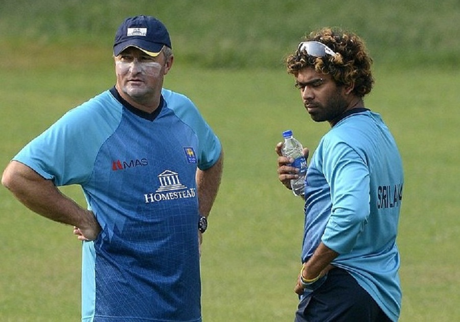 Paul Fabrace and Lasith Malinga