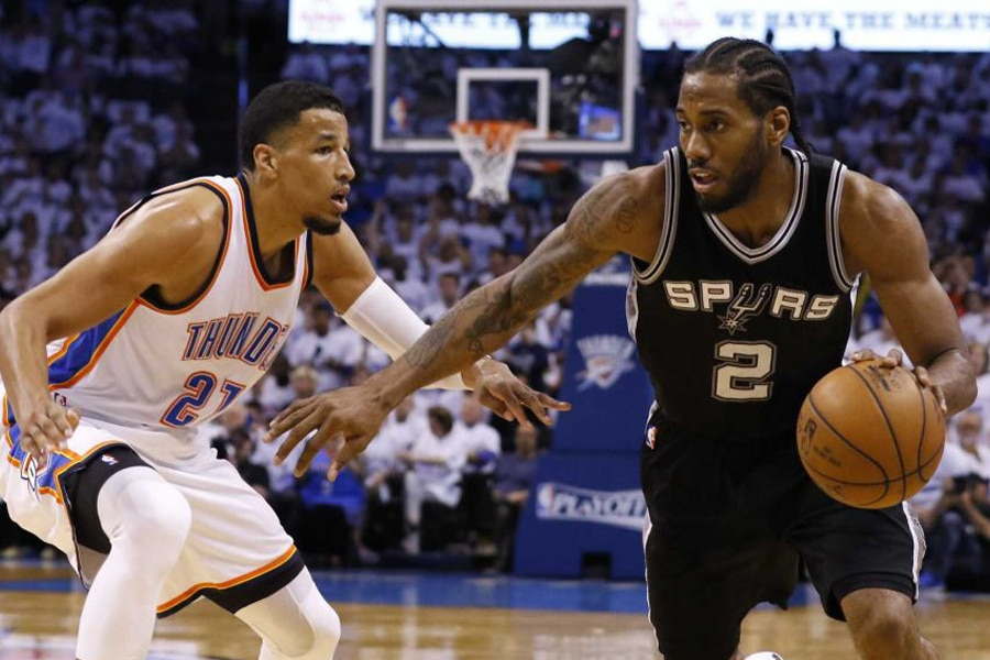 Western Conference - Thunder beat Spurs to tie series
