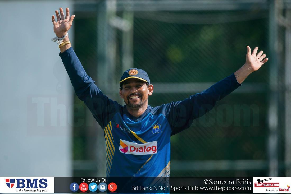 Sri Lanka practices ahead of 1st T20I