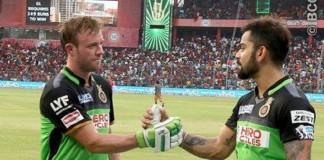 Virat Kohli AB De Villiers