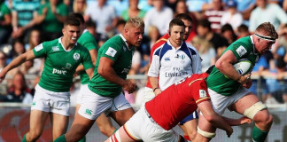 Tries and upsets aplenty on day one in Manchester