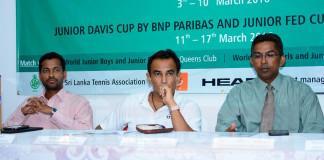 2016 ITF World Juniors, Fed Cup & Davis Cup in Sri Lanka