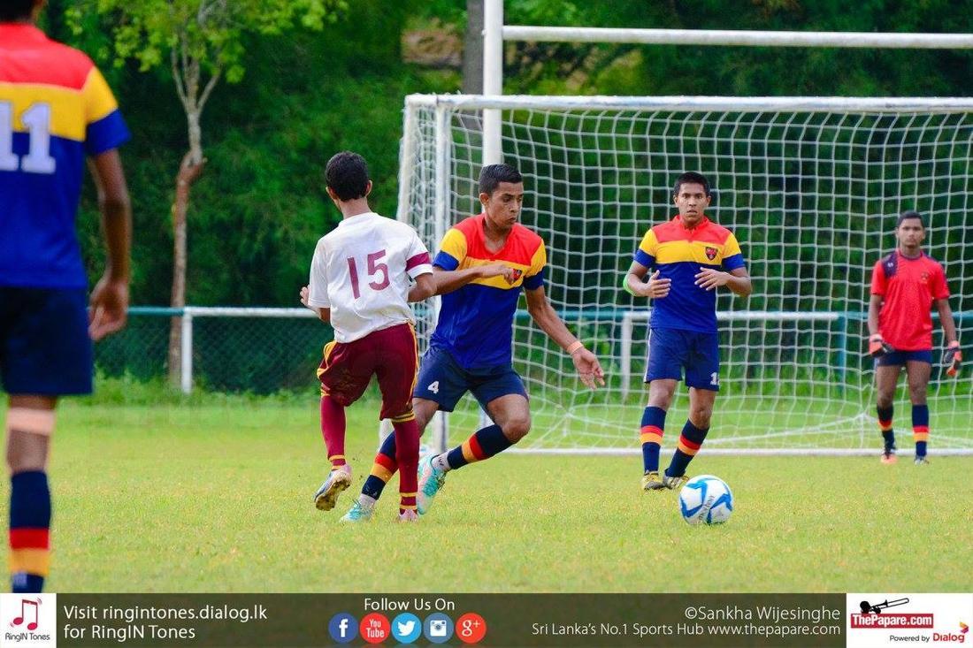 Ananda College vs Trinity College - Schools Football 2016