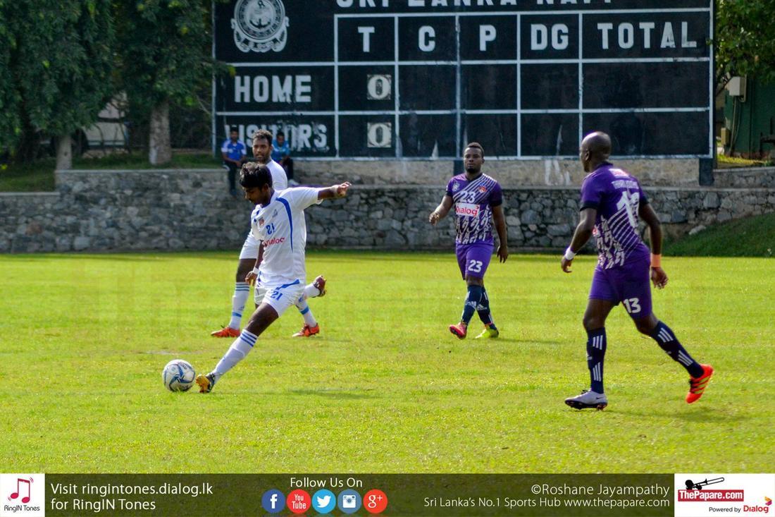 SL Navy SC vs Thihiriya Youth SC (Dialog Champions League 2016)