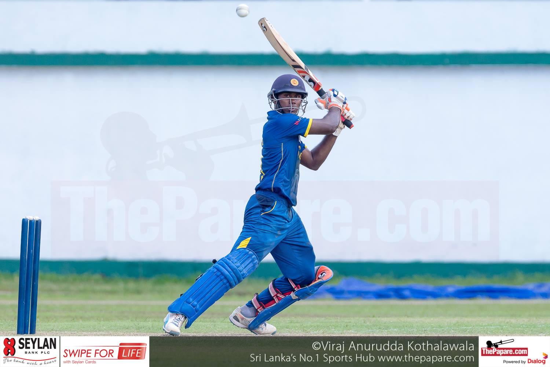 Sri Lanka U19 v India u19