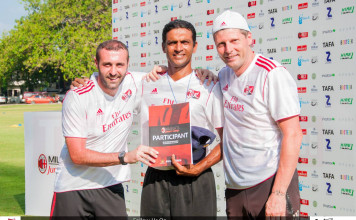TAFA - AC Milan Coaching Camp - Awards Ceremony