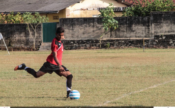Kalutara v Beruwala - U19 Junior Inter League Championship (2016)