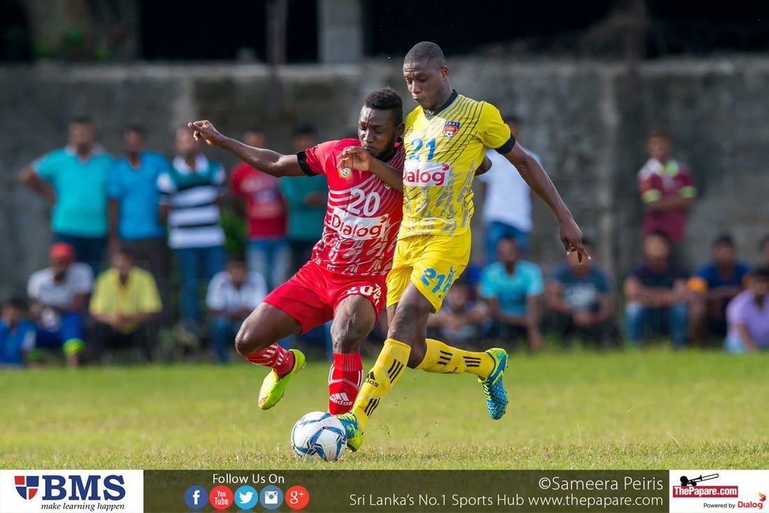 Saunders SC v Java Lane SC (Dialog Champions League 2016)