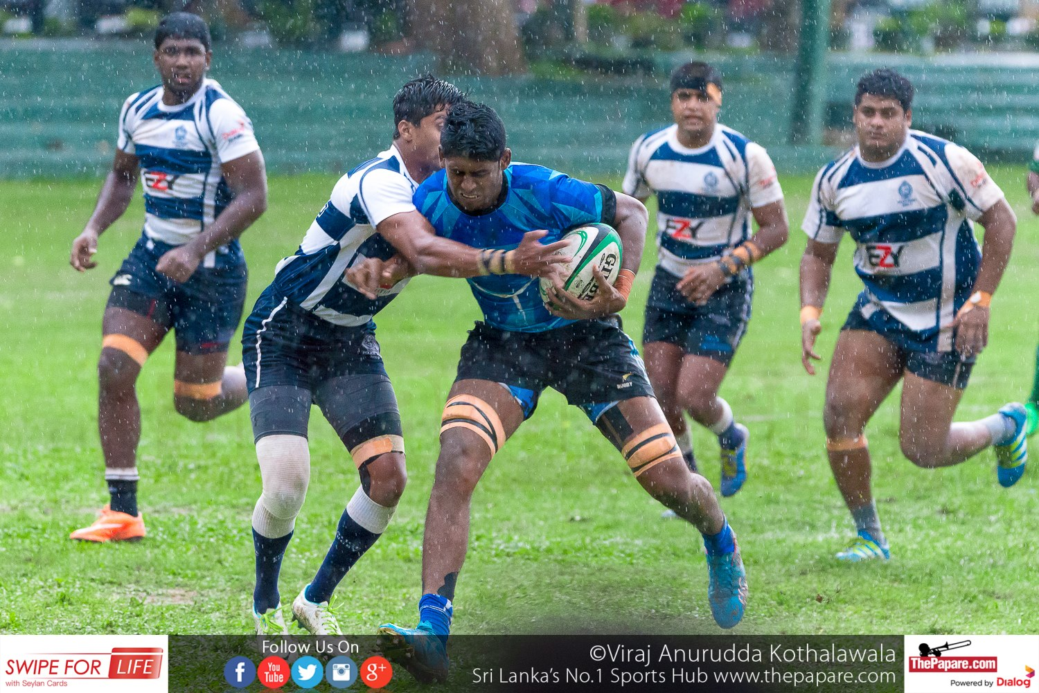 Police SC v Air Force SC - Dialog Rugby League