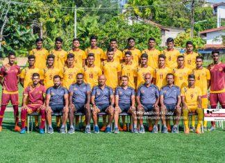 Sri Lanka squad 2020 AFC U23 championship qualifiers