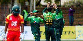 Pakistan vs Zimbabwe t20s