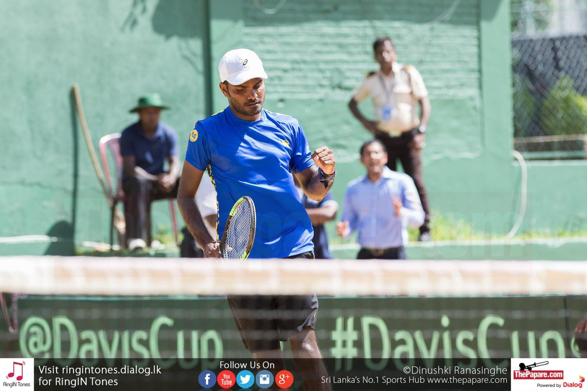 Godamanne is undoubtedly Sri Lanka's most accomplished Davis Cup Player