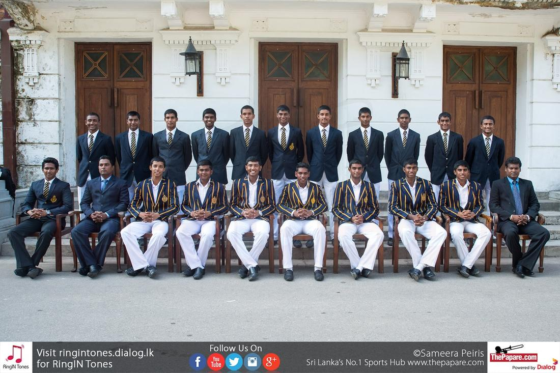 Royal College Cricket Team 2015/16