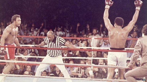 Ali's boxing career