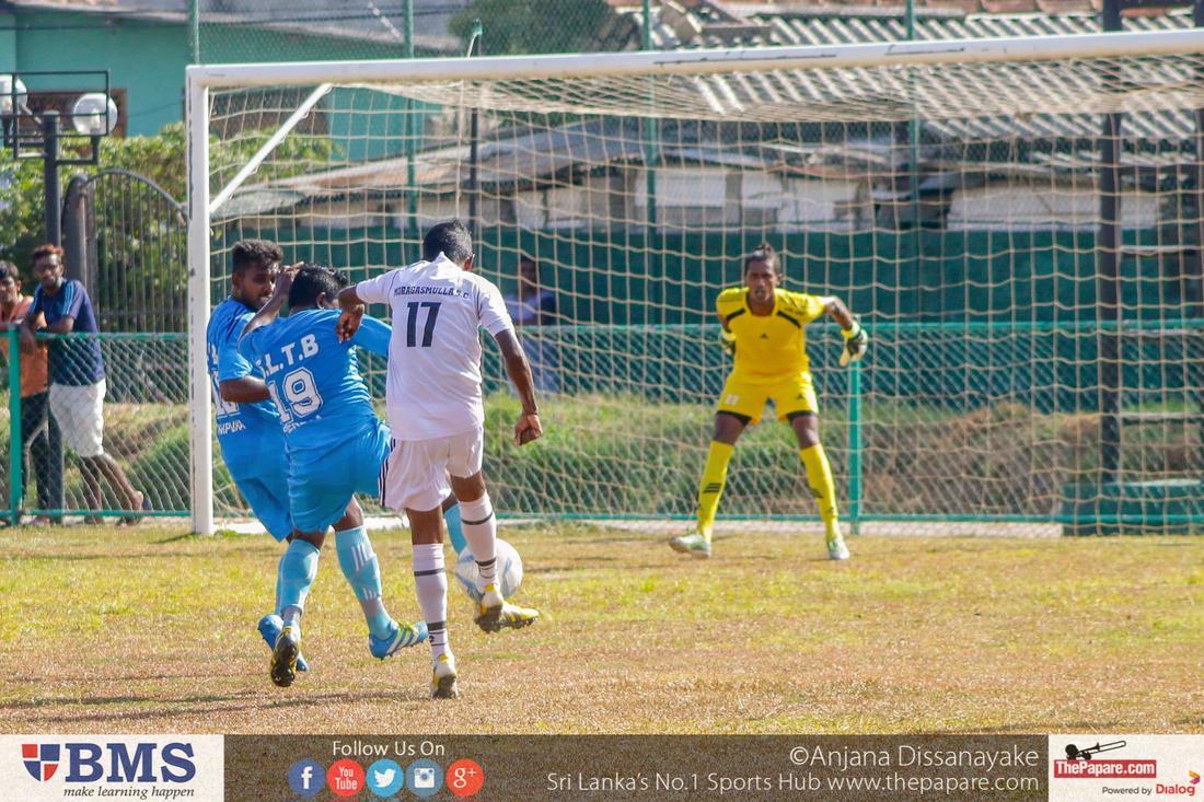 Moragasmulla SC v SLTB SC - Premier League Div I (2016)