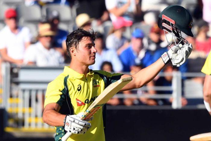Marcus Stoinis compiled a brilliant 117-ball 146 in the first ODI
