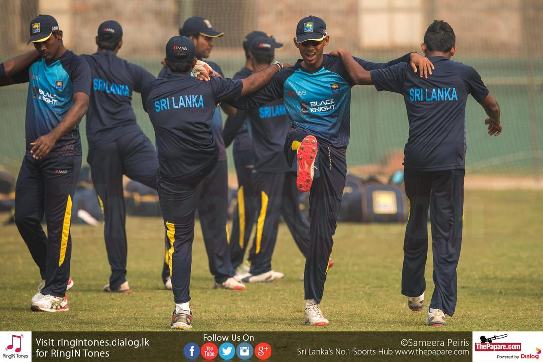 Sri Lanka U19 vs India U19 - Semi Finals (Practice Session)