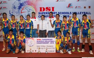 DSI Super Sport Volleyball U-14 Boys Champions